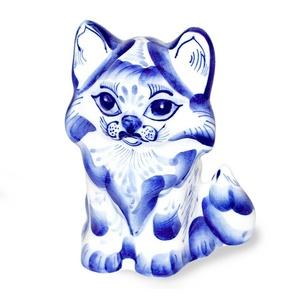 Скульптура котенок Пушок - 993000701