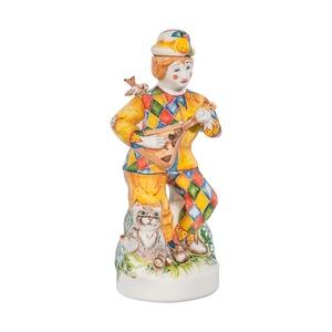 """Штоф Скоморох """"Русские гулянья"""" (подглазурные цветные краски) - 993012911"""