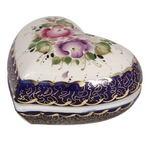 Шкатулка Сердце (надглазурная роспись) - 9930941051