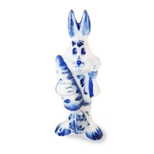 Скульптура Заяц с морковкой - 993150701