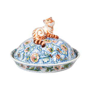 Блинница Все коту масленица (подглазурные цветные краски)   - 993302706