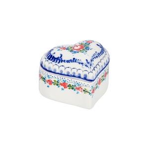 Шкатулка Сердечко (подглазурные цветные краски, кобальт) - 993311331