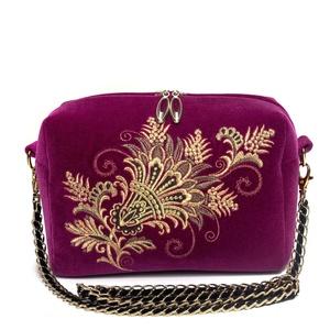 Бархатная сумка «Лианет» - м.887 р.2544