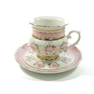 Чайная пара голубка высокохудожественная роспись - 993034715