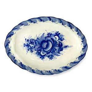 Блюдо овальное Лаванда малое 2 сорт - 993154002