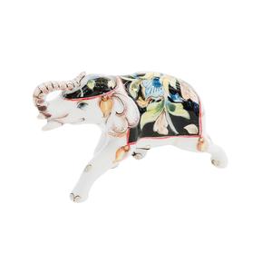 Скульптура Слон №5  (подглазурные цветные краски) - 993312011