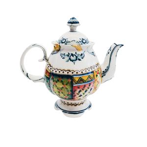 Сервиз чайный Цветок (подглазурные цветные краски, кобальт) авторская работа - 993315401