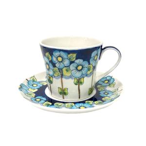 Чайная пара Наталья  (подглазурные цветные краски, авторская работа) - 993322701
