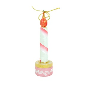 Елочная игрушка Свечи -