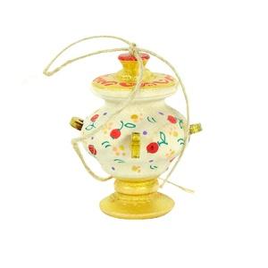 Елочная игрушка Самовар -