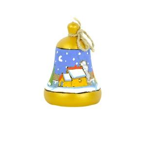 Елочная игрушка Колокольчик -