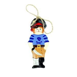 Елочная игрушка Пират -
