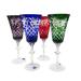 """Набор 4 бокал """"Лилия"""" рис. """"Фараон""""(разноцветные) - 233657"""