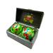 Набор из 2 елочных шаров шкатулке - SET02D-3