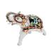 Скульптура Слон №3 (подглазурные цветные краски, кобальт) - 993311981